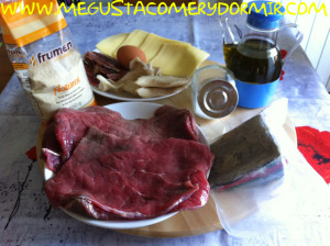 Ingredientes cachopo